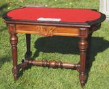 05-486 Renaissance revival library table
