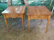 Pair Mid-Century End Tables